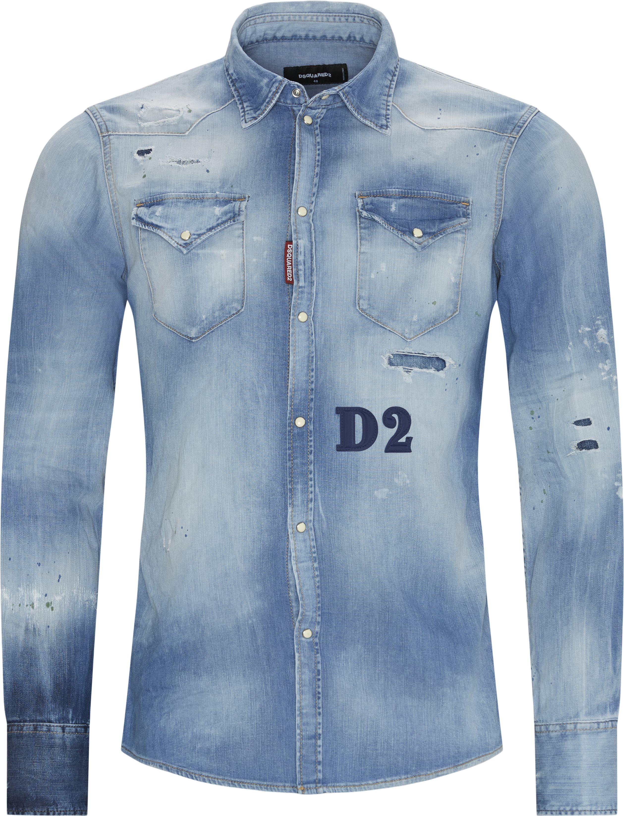 Shirts - Regular fit - Blue